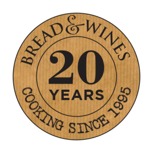 Bread & Wines - 20 Year Badge (brown)