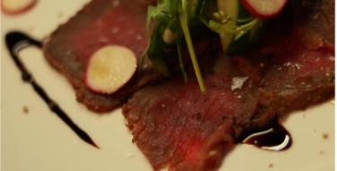 Taste the Karoo. Chef's diary, smoked kudu.