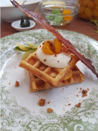 corn waffle recipe